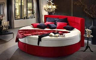 De ronde boxspring - Goed Slaapcomfort